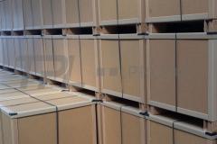 Petek panel ambalaj, kutu ve kasa